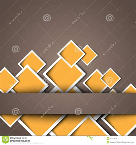 design is square 3d square design template stock vector image of frame