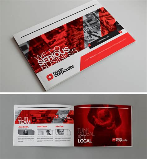 leaflet design ideas free 50 beautiful printed brochure designs for your inspiration