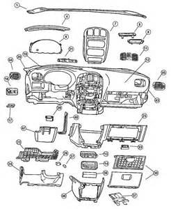 2001 Chrysler Voyager Parts 2001 Chrysler Voyager Instrument Panel Panel Silencers