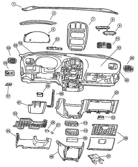 old car repair manuals 2002 chrysler voyager instrument cluster genuine gmc parts diagrams gmc auto wiring diagram