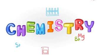 Animation of chemistry subject with chemical laboratory