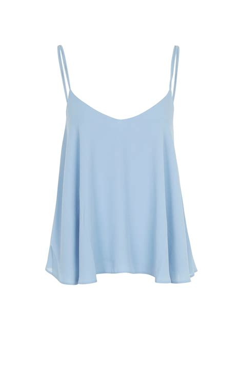 swing camisole rouleau swing camisole top new in topshop
