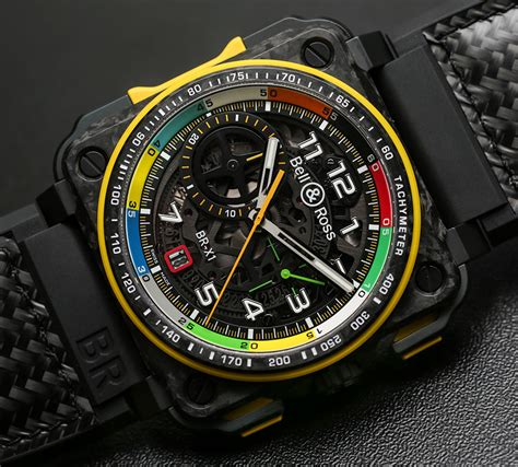 Bell Ross bell ross br rs17 formula 1 racing inspired watches