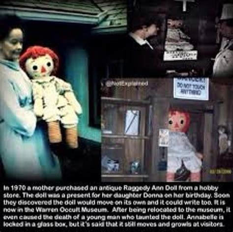 annabelle doll true facts 10 facts about annabelle fact file