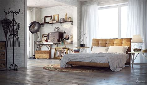 Industrial Home Decor Industrial Bedrooms Interior Design Interior Design Ideas Modern Design Pictures
