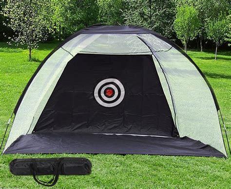golf hitting nets backyard flexzion golf practice net training aids driving hitting cages
