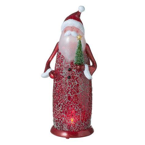 new lighted santa figurine statue christmas decoration