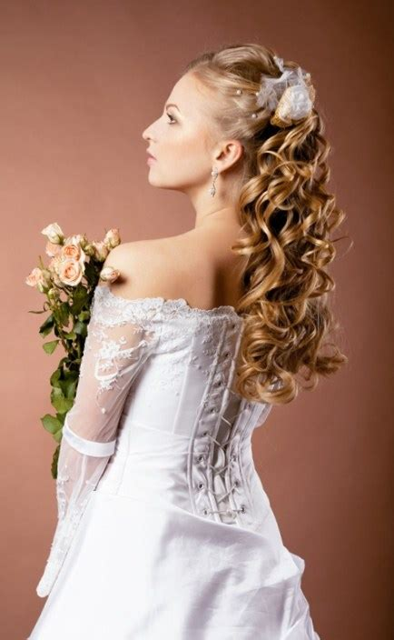 Gown Hairstyles by How To Choose Hairstyle According To Wedding Dress Talk