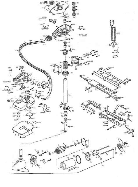 minn kota trolling motor diagram boat motor diagram