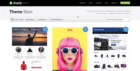 shopify themes with filters how to start an online store the right way with images