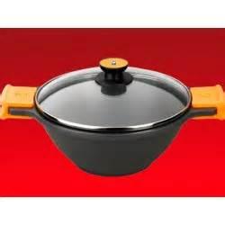 Maspion Teflon Wok 28 Promo wok en fonte d aluminium tous feux et induction bien