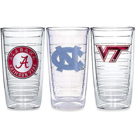 tervis bed bath and beyond tervis 174 tumbler collegiate 16 ounce tumblers sets of 4