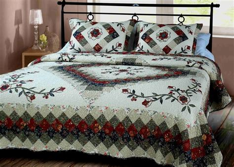 King Size Patchwork Quilts - buy treasure quilt king size cotton patchwork