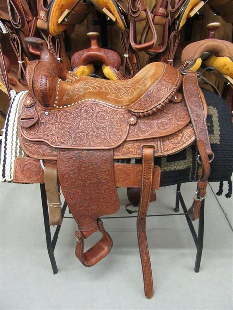 Handmade Saddles For Sale - custom handmade rios saddle