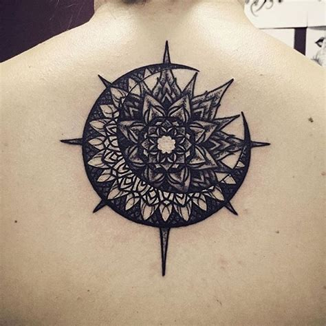 sun and moon mandala tattoo click for more detail http www phoenixvoyage org