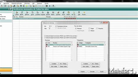 tutorial excel nomina 2012 youtube tutorial nominaplus 2012 c 225 lculo de n 243 minas youtube