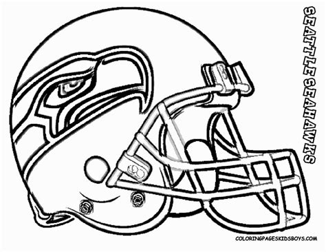 seattle seahawks coloring page coloring pages