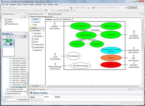 diagramme sysml cas d utilisation syst 232 me air blade