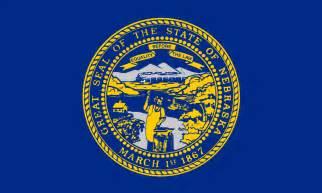 nebraska colors nebraska flags emblems symbols outline maps