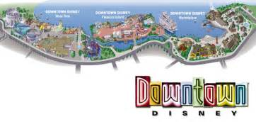 Downtown Disney Florida Map by Legs Eleven Where In Walt Disney World Downtown Disney