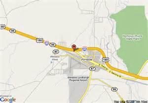 map of winslow arizona map of winslow days inn winslow