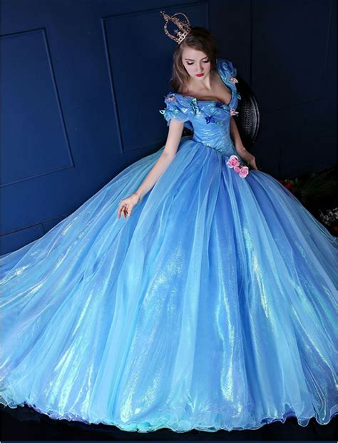 Cinderella Inspired Princess Ball Gown