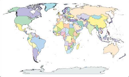 world map illustrator world map with countries adobe illustrator ai