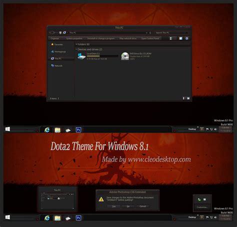 psp themes dota 2 dota2 theme for windows 8 1 windows10 themes i cleodesktop