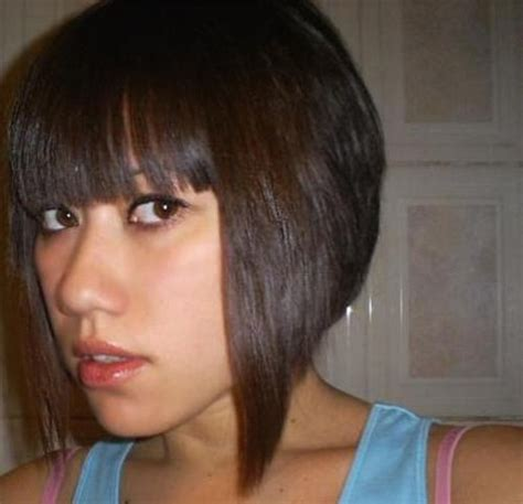 Asian Women Hairstyle With Bob Haircut