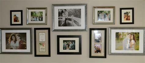 different picture frames how to create a gallery wall with inspirational gallery