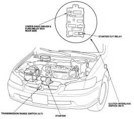 93 honda accord starter relay wiring diagram get free