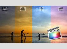 Fix White Balance / Color Balance for Video Using FCPX ... Final Cut Pro
