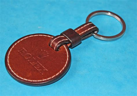 Leather Key Holder Brown accessories rolex brown leather key ring holder chrono