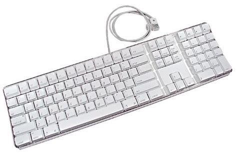 Apple Qwerty apple white usb qwerty uk keyboard key for model a1048