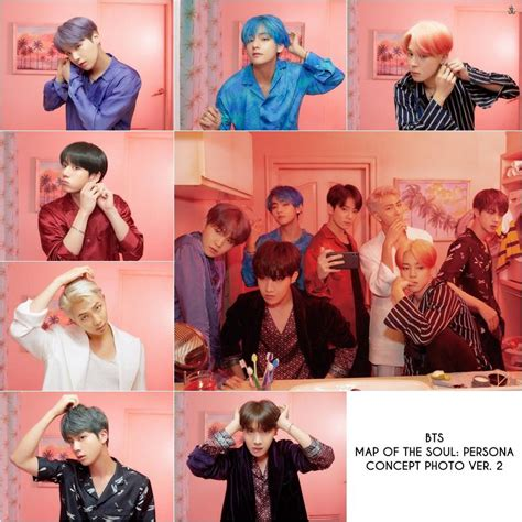 bts map   soul persona   choose ver