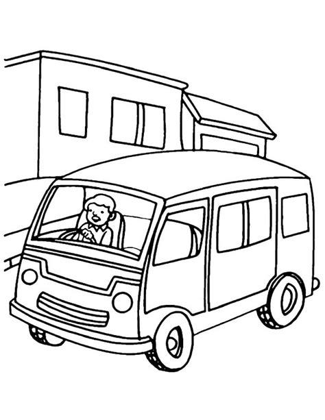 vans coloring pages