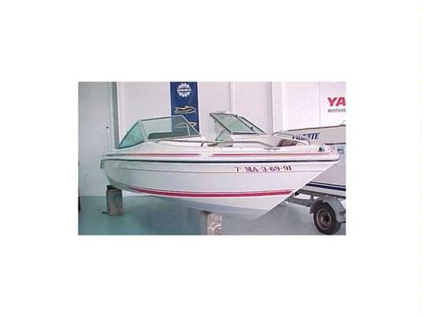 bow of a boat in spanish sea ray 180 bow rider in spain open boats used 53525