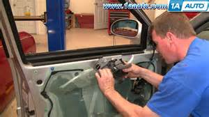 how to install repair replace inside front door handle