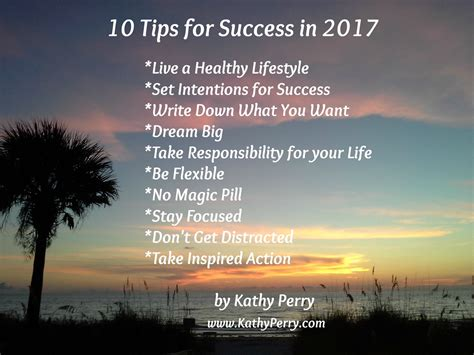 the top 10 for success to succeed in business and from billionaires leaders who changed the world books 10 tips for success in 2017 kathy perry social media