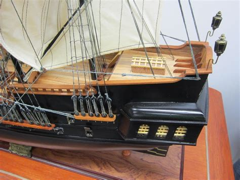 Black Pearl Handmade Wood Pirate - black pearl pirate ship 39 quot handcrafted wood model