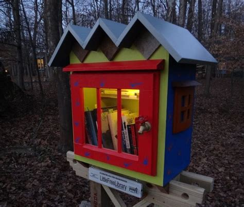 front yard library 29 best images about free library on
