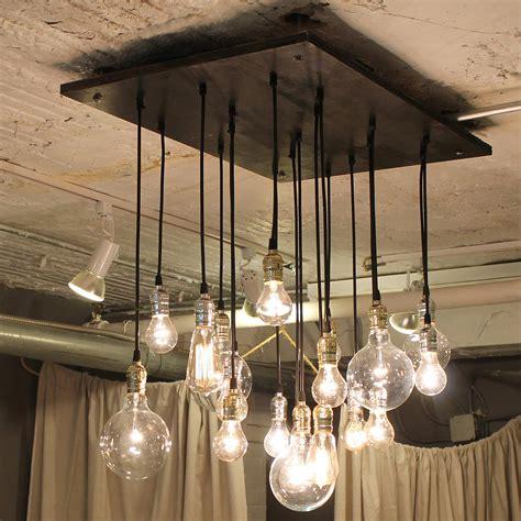 Chandelier Inspiring Edison Bulb Chandeliers Industrial Edison Chandelier
