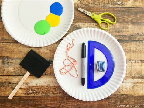Paper Craft Stores - paper plate tie craft for s day about a