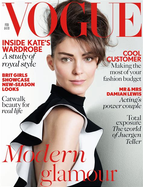 On The Cover Of Vogue This February by Vogue Uk Magazine Feb 2013 Inside Kate S Wardrobe