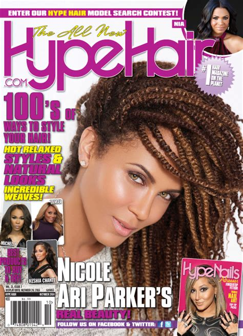 Hype Hair Braids Magazine | nicole ari parker covers hype hair october 2014 issue