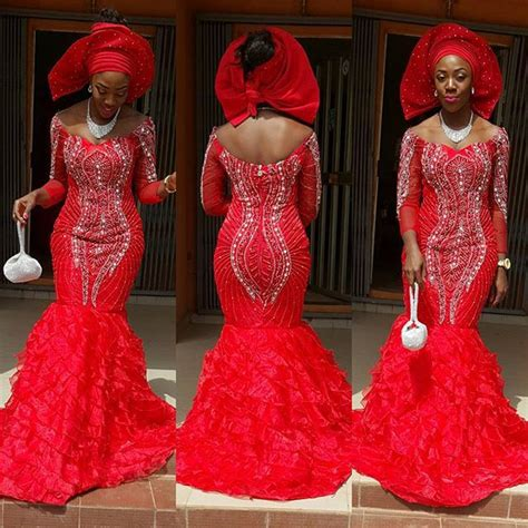 latest lace styles 2016 9 magnificent aso ebi in lace styles 2016