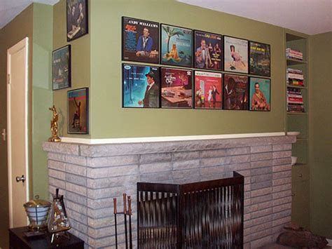 Great Idea For Cheap Wall Album Covers In Displaying Album Covers As Ideas From 8 Reader