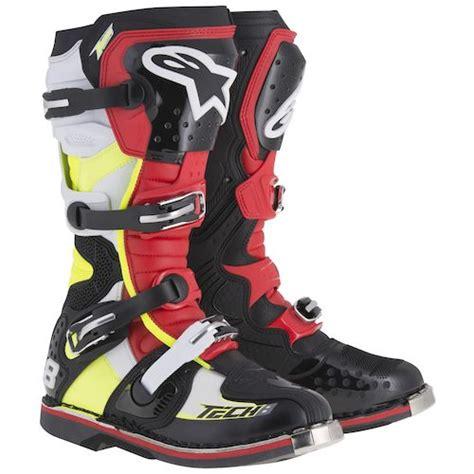 alpinestars tech 8 boots alpinestars tech 8 rs boots revzilla