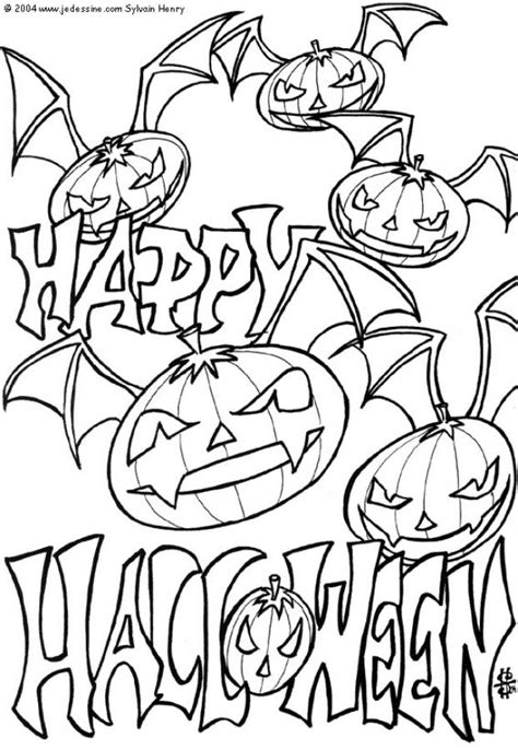 cool halloween printable coloring pages free printable halloween coloring pages for kids