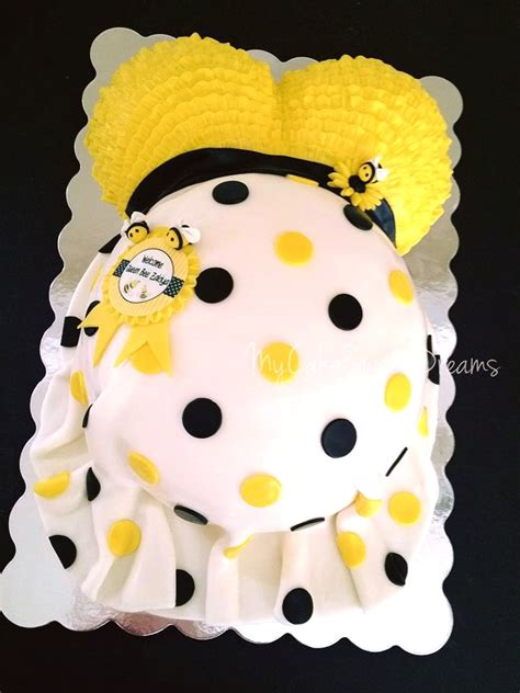 Bumble Bee Cakes For Baby Shower by My Cake Sweet Dreams Bumble Bee Baby Shower Cake